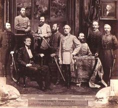 Confederate Commanders | FamilyOldPhotos.com - Old Photos and Postcards, faces and places of the past