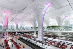 New Delhi Railway Station Arup was selected, in consortium with Terry Farrell and Partners and SMEC, to redevelop New Delhi Railway Station in India as an urban icon for a modern, vibrant city. New Delhi Station is the first station within the Ministry of Railways' World-class Station programme, as identified in the Government's 11th five-year plan for infrastructure improvement on India's railways.