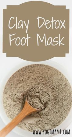 Clay Foot Mask Our feet are a great way to remove toxins from our body. Checkout this simple and effective detox clay foot mask recipe.Our feet are a great way to remove toxins from our body. Checkout this simple and effective detox clay foot mask recipe. Diy Skin Care, Skin Care Tips, Aztec Clay, Diy Masque, Indian Healing Clay, Foot Detox, Manicure Y Pedicure, Pedicures, Clay Masks