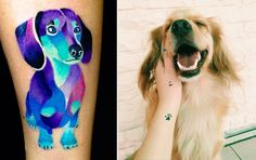 30 Dog-Inspired Tattoos That Are So Dazzling, They're Basically Art