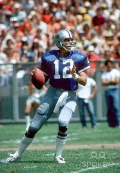 1978 DALLAS COWBOYS   Dallas Cowboys quarterback #12 Roger Staubach during a 1978 pre-season ...