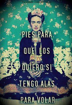 """""""Donde no puedas amar...no te demores"""" [Frida kahlo] - Buscar con Google"""
