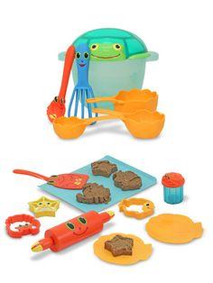 Melissa & Doug Seaside Sidekicks Sand Baking Set & Cookie Set