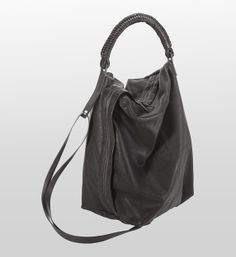 Helmut Lang  Leather Handbags - Onyx Leather Bag