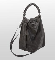 Helmut Lang  Leather Handbags - Onyx Leather Bag