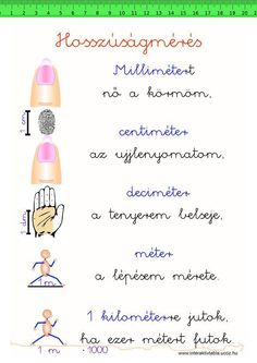 Elementary schools - interaktivtabla ucoz hu index mertekegysegek 09 Learning Methods, Home Learning, Teaching Tips, Teaching Math, Math Teacher, Primary School, Elementary Schools, Teaching Displays, School Games