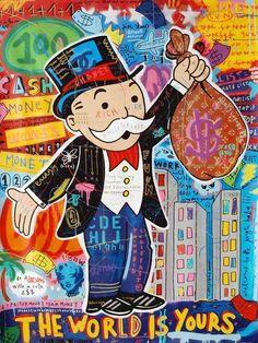 Banksy Graffiti, Graffiti Wall Art, Art Mural, Canvas Poster, Poster Wall, Canvas Art Prints, Canvas Wall Art, Big Canvas, Canvas Frame