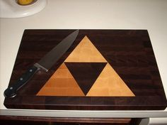 Triforce Cutting Board