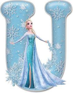 Frozen Birthday Party, Frozen Tea Party, Disney Frozen Party, Elsa Frozen, Birthday Parties, Disney Font Free, Disney Fonts, Disney Disney, Frozen Cupcake Toppers