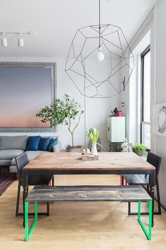 Inside a Brooklyn Designer's Warm and Modern Family Home
