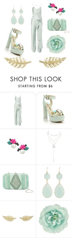 """""""Untitled #28"""" by mecho-puh ❤ liked on Polyvore featuring Galvan, Sophia Webster, Charlotte Russe, G-lish, Kenneth Jay Lane, Jennifer Meyer Jewelry and Monsoon"""