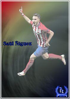 Saul Niguez by PanosEnglish.deviantart.com on @DeviantArt