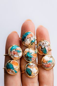 ✨✨We're kicking off LDW early.Free STANDARD shipping on all U. orders through Monday✨✨ Shop these gorg organic shaped oyster turquoise… Cute Jewelry, Jewelry Box, Jewelery, Jewelry Accessories, Jewelry Design, Jewelry Making, Pandora Jewelry, Monies Jewelry, 80s Jewelry