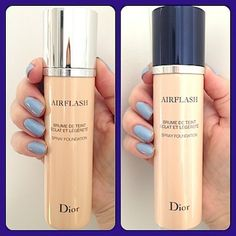 Makeup Review, Before/After Photos, Swatches: Dior Diorskin Airflash Spray Foundation: In 10 Shades