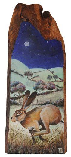 """The Bounder"" by Jemima Jameson. Watership down tattoo Jack Rabbit, Rabbit Art, Hare Illustration, Watership Down, Pagan Art, Nature Posters, Bunny Art, Woodland Creatures, Watercolor Animals"