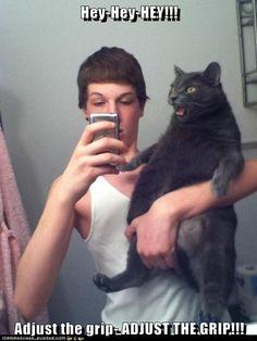 you make kitteh angry!