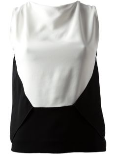 Roland Mouret Monochrome Top - Julian Fashion - Farfetch.com.br