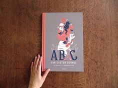 """""""Het ABC van Gaston Durnez"""", a wonderful and original alphabet book where text and image take you on a fun and witty adventure from A to Z. Written by renowned author Gaston Durnez, and with more than 30 unique Jacques & Lise illustrations, playful compos…"""