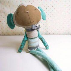 Handmade Softie | Zacarias the Monkey