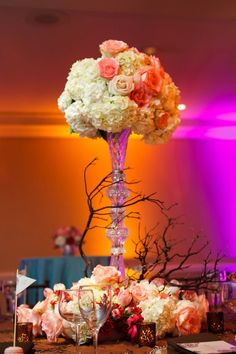 Modern Vintage wedding flowers!