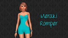 Coli's Wonderland — Meraki Romper Base Game Compatible  Mad Hatter...