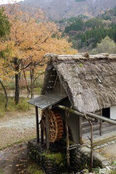 Water Wheel - Shirakawa-Go Japan