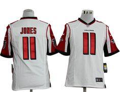 Nike jerseys for sale - Men's Atlanta Falcons #11 Julio Jones Nike White Elite Jersey ...
