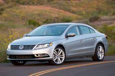 2013 Volkswagen CC, front three-quarter view.