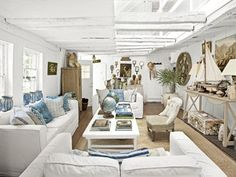 A New York Home Built From a Ship  Read more: Home Built From a Ship - Decorating with Antiques - Country Living  Follow us: @Country Living Magazine on Twitter | CountryLiving on Facebook  Visit us at CountryLiving.com