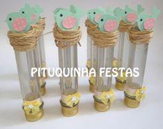 Tubete Passarinho Baby Girl First Birthday, First Birthday Parties, First Birthdays, Party Invitations, Party Favors, Fun Crafts, Paper Crafts, Bird Party, Bird Theme