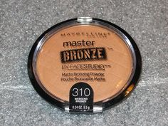 Maybelline Facestudio Master Bronze Powder - 310 - Weekend Bronze - 1pc >>> This is an Amazon Affiliate link. You can get more details by clicking on the image.