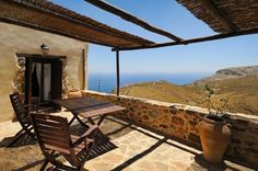 Thalori Traditional Village ... combines in unique ways: the Sea and the Mountain, History and Myth, Nature and Serenity, Vacation and Traditional life, real village feel.  http://www.crete-hotels-rooms.com/Reservations/thalori.htm