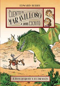 """Don Quixot i el drac"" Editorial La Galera a 12 anys) Tapas, Tarot Gratis, One Piece Manga, Weird Cars, Bridal Gifts, Fast Cars, Bad Boys, Pink Blue, Cool Things To Buy"