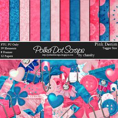 PolkaDot Scraps by Chassity: Freebie