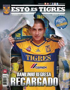 Febrero 2013: Ya puedes adquirir nuestra nueva edición de la revista oficial de Tigres, esta vez en portada Danilinho