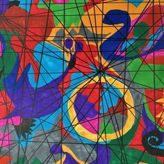 A little experiment with colours and lines. Permanent marker on marker paper.  #art #modernart #jaboscreations #marker #permanentmarker #drawing #whimsical #whimsicalart #happy #Contemporaryart #artist #photooftheday #colorfulart #funart #artistic #instaart
