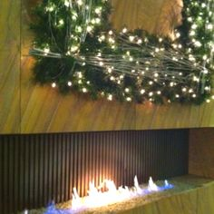 Great fireplace idea for Old Post Office apartment!