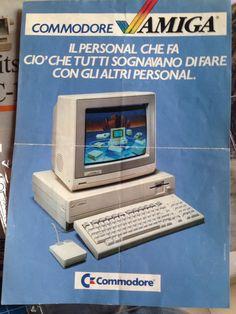 Depliant dei tempi... Prima dell'acquisto del Amiga 1000