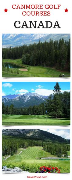 Rocky Mountains – Canmore Golf Courses. Did you know that playing golf in the Canadian Rockies is good for your health?