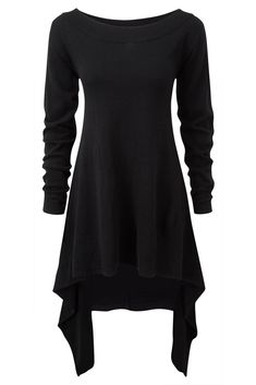 After Effect Knit Dress [B] | KILLSTAR  Chill-vibezknit dress with wide neck and long sleeves. A perfect piece for layering knits.
