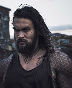 JUSTICE LEAGUE: New Official Image Of Jason Momoa As AQUAMAN Revealed Via ARGUS Website
