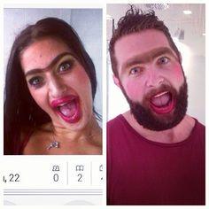 Le winner du jour : il recréé les photos de profil des filles sur Tinder