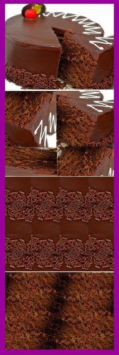 Easy to make chocolate cake! Love Chocolate, Chocolate Brownies, Cake Cookies, Cupcake Cakes, Sweet Recipes, Cake Recipes, Pan Dulce, Pie Cake, Pastry Cake