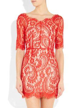 -Orange dress-
