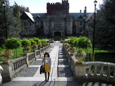 For all you Smallville fans Hatley Castle is Lex Luthor's Mansion!
