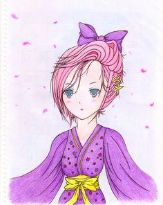 #illustration #illustrate #artist #characterdesign #kawaii #kawaiigirl #cute #kindness #happy #anime #animeart #animefan #girl #beauty #beautiful #art #manga #animefemale #Love #japanese #kimono