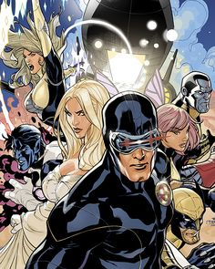 Uncanny X-Men 505 Cover Final by TerryDodson