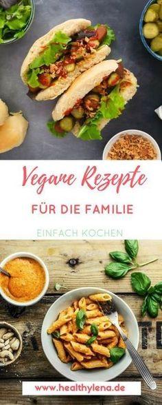 Vegane Rezepte für die Familie – immer wieder erreichen mich Anfragen, welche Rezepte denn auch familientauglich sind. Heute habe ich euch eine Reihe an unkomplizierten Rezepten mitgebracht, die sowohl klein als auch groß schmecken dürften. Natürlich sind die Geschmäcker verschieden, aber hier ist bestimmt auch etwas für euch dabei: alltagatauglich, vegan und natürlich auch gesund. #vegan #veganerezepte #familie