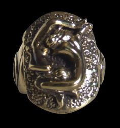 Bronze Cancer Zodiac/Astrology Ring from Jax Biker Jewellery by DaWanda.com