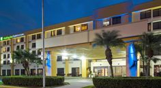 Holiday Inn Express Hotel & Suites Miami - Hialeah/Miami Lakes Hialeah Located just off the Palmetto Expressway and directly across from the Palmetto General Hospital and Palmetto Medical Plaza, this hotel features an outdoor pool, free WiFi, and a daily hot breakfast.